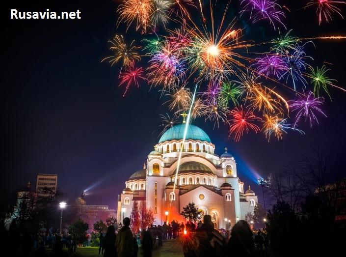 Сербия - Новый Год в Сербии!